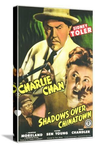Shadows Over Chinatown, 1946--Stretched Canvas Print