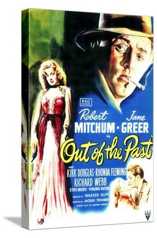 Out of the Past, 1947--Stretched Canvas Print