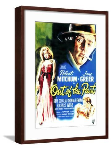 Out of the Past, 1947--Framed Art Print