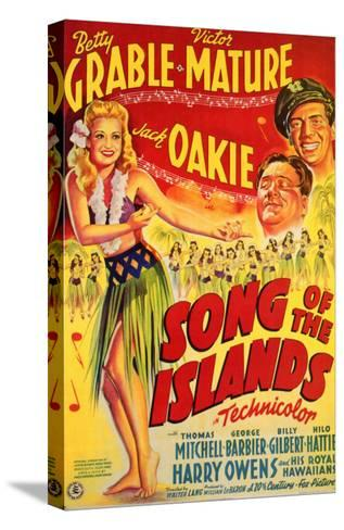 Song of the Islands, 1942--Stretched Canvas Print
