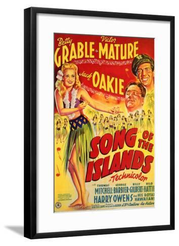 Song of the Islands, 1942--Framed Art Print
