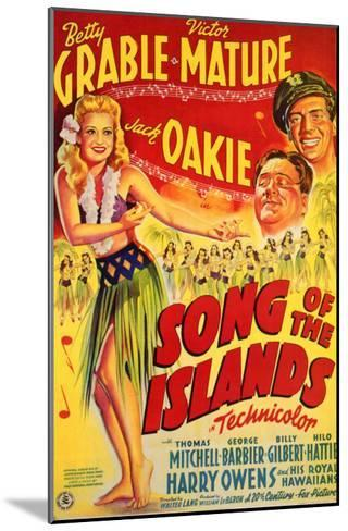 Song of the Islands, 1942--Mounted Art Print