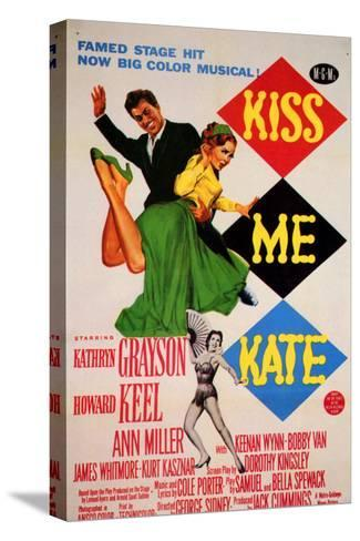 Kiss Me Kate, 1953--Stretched Canvas Print