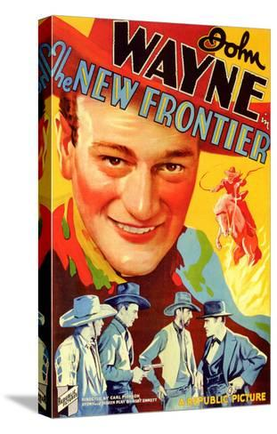 The New Frontier, 1935--Stretched Canvas Print