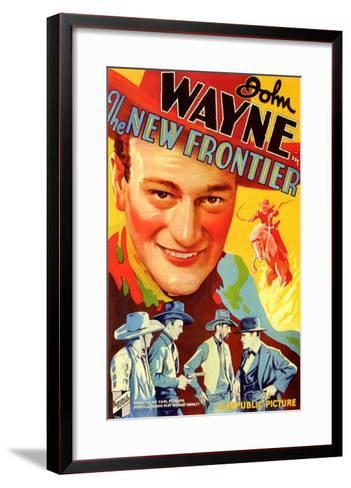 The New Frontier, 1935--Framed Art Print