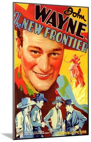 The New Frontier, 1935--Mounted Art Print