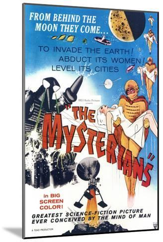 The Mysterians, 1959--Mounted Art Print