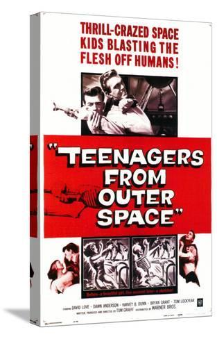 Teenagers From Outer Space, 1959--Stretched Canvas Print
