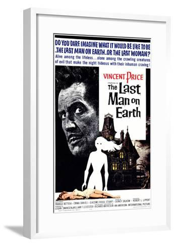 The Last Man on Earth, 1964--Framed Art Print