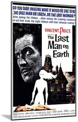 The Last Man on Earth, 1964--Mounted Art Print