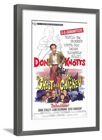 The Ghost and Mr. Chicken--Framed Art Print