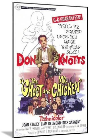 The Ghost and Mr. Chicken--Mounted Art Print