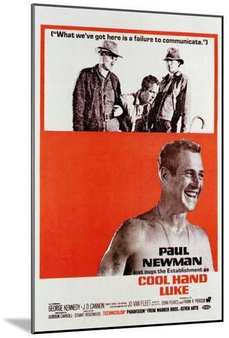 Cool Hand Luke, 1967--Mounted Art Print