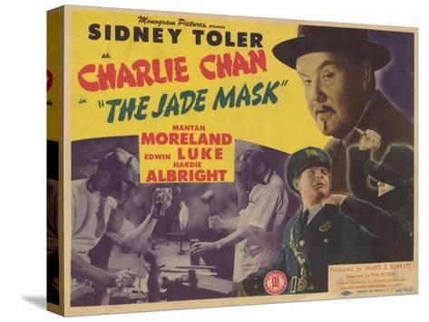 Charlie Chan in The Jade Mask, 1945--Stretched Canvas Print