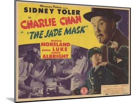 Charlie Chan in The Jade Mask, 1945--Mounted Art Print