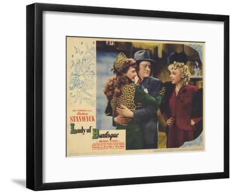 Lady of Burlesque, 1943--Framed Art Print