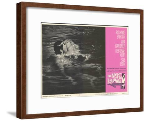 The Night of the Iguana, 1964--Framed Art Print