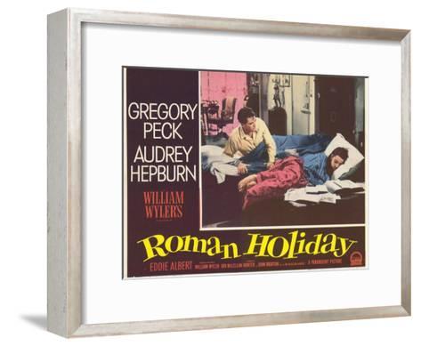 Roman Holiday, 1953--Framed Art Print