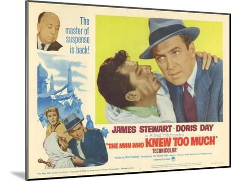 The Man Who Knew Too Much, 1956--Mounted Art Print