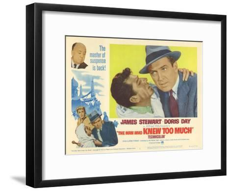 The Man Who Knew Too Much, 1956--Framed Art Print