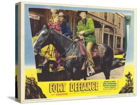 Fort Defiance, 1951--Stretched Canvas Print
