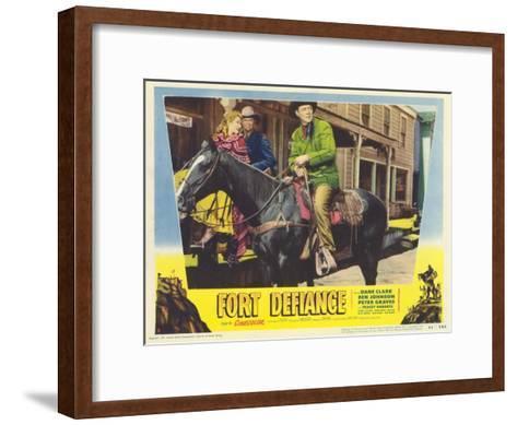 Fort Defiance, 1951--Framed Art Print