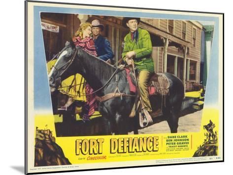 Fort Defiance, 1951--Mounted Art Print
