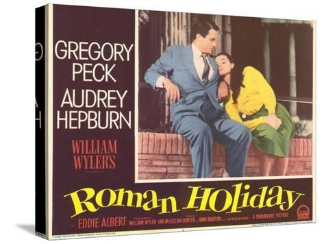 Roman Holiday, 1953--Stretched Canvas Print