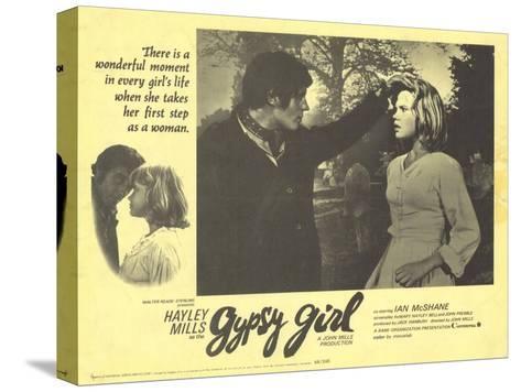 Gypsy Girl, 1966--Stretched Canvas Print