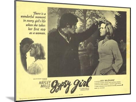 Gypsy Girl, 1966--Mounted Art Print