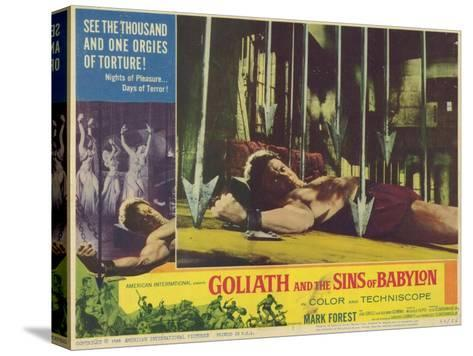 Goliath and the Sins of Babylon, 1964--Stretched Canvas Print