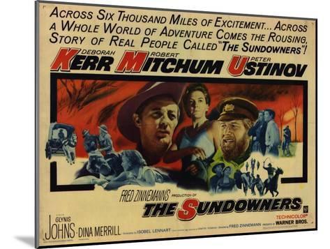 The Sundowners, 1961--Mounted Art Print