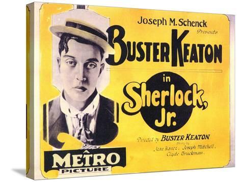 Sherlock, Jr., 1924--Stretched Canvas Print