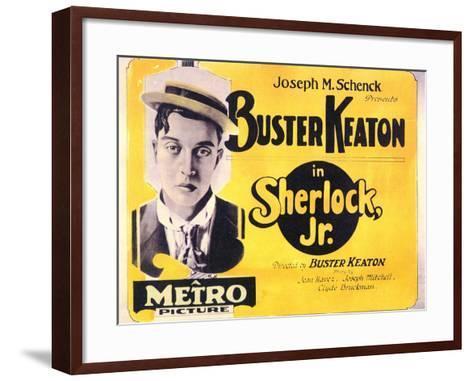 Sherlock, Jr., 1924--Framed Art Print