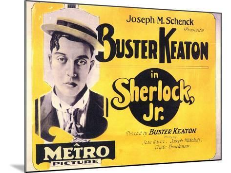 Sherlock, Jr., 1924--Mounted Art Print