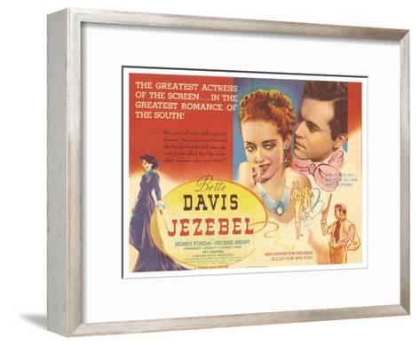 Jezebel, 1938--Framed Art Print