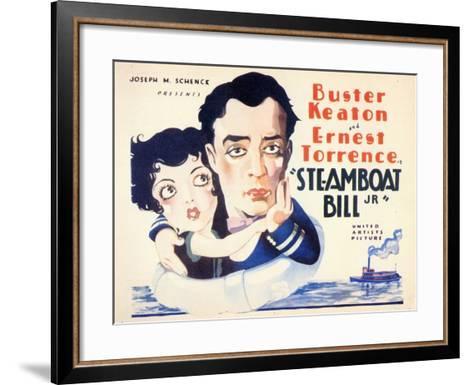 Steamboat Bill, Jr., 1928--Framed Art Print