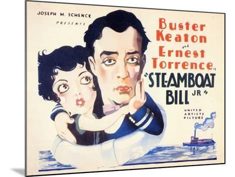 Steamboat Bill, Jr., 1928--Mounted Art Print