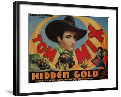 Hidden Gold, 1932--Framed Art Print