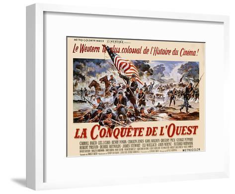 How the West Was Won, 1964--Framed Art Print