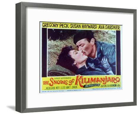 The Snows of Kilimanjaro, 1952--Framed Art Print