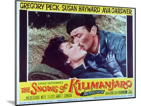 The Snows of Kilimanjaro, 1952--Mounted Art Print