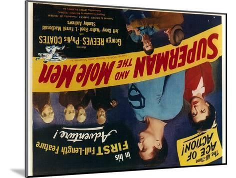 Superman and the Mole Men, 1951--Mounted Art Print