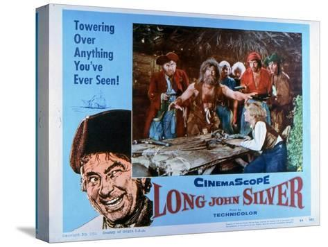 Long John Silver, 1954--Stretched Canvas Print