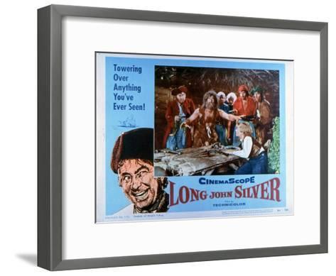 Long John Silver, 1954--Framed Art Print
