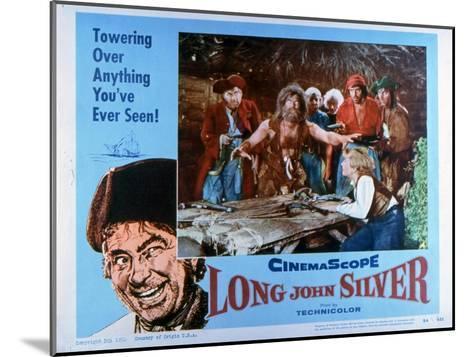 Long John Silver, 1954--Mounted Art Print