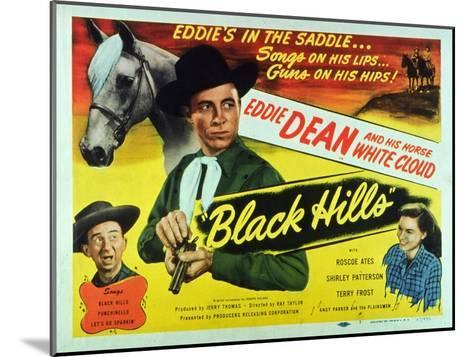Black Hills, 1948--Mounted Art Print