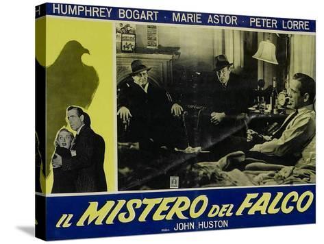 The Maltese Falcon, Italian Movie Poster, 1941--Stretched Canvas Print