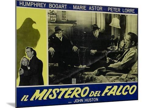 The Maltese Falcon, Italian Movie Poster, 1941--Mounted Art Print