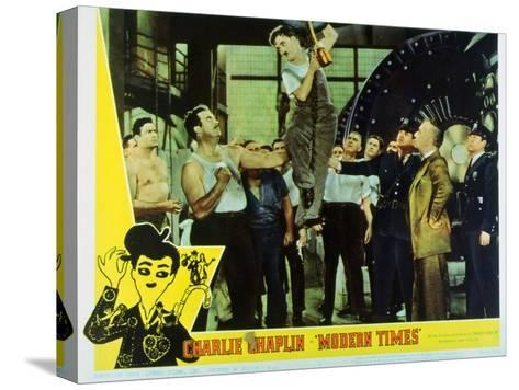 Modern Times, 1936--Stretched Canvas Print